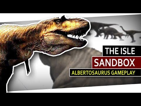 The Isle #194 - Albertosaurus Showcase [CAM][GERMAN][SANDBOX]