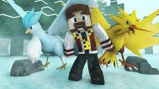 Minecraft : POKÉMON SAFARI #4 - ZAPDOS E ARTICUNO! VAMOS CAPTURAR!!