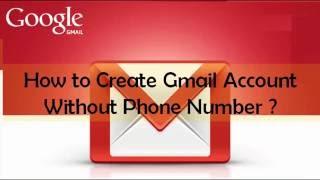 Erstellen Gmail-Account ohne Handy Nummer l überprüfen, ohne Telefon l bangla-video-tutorial