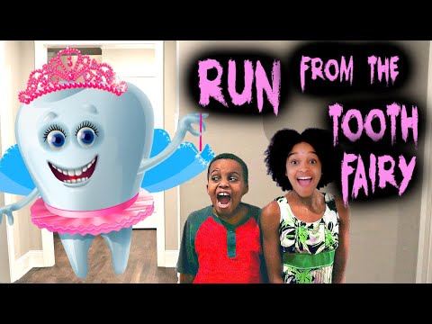 Bad Baby BLOODY TOOTH - Tooth Fairy Prank Shasha And Shiloh - Onyx Kids