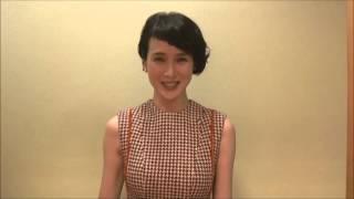 『クリプトグラム』出演の安田成美さんよりメッセージが届きました。 **...