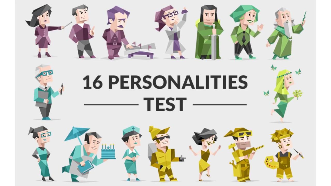 16 personligheder test