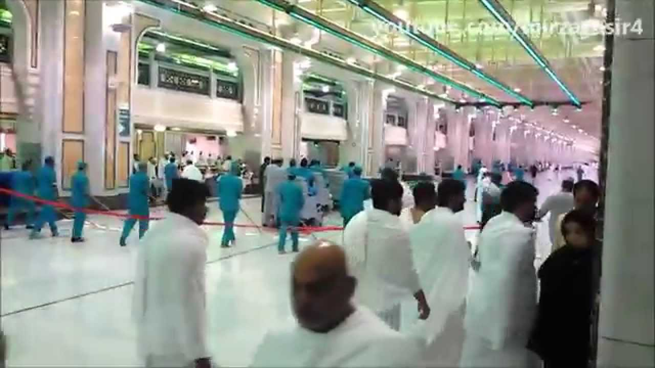 Cleaners of Haram Makkah Saudi Arabia
