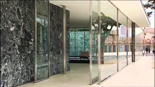 Mies van der Rohe - Deutscher Pavillon in Barcelona (Baukunst)