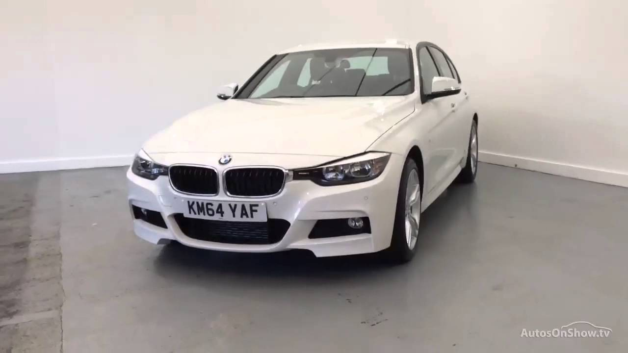 bmw 3 series 335d xdrive m sport white 2014 youtube. Black Bedroom Furniture Sets. Home Design Ideas