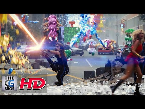 "CGI & VFX Breakdowns : ""PIXELS Washington DC Shot Breakdowns"" - by Sony Pictures Imageworks"
