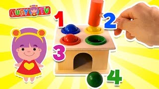 Video Educativi per Bambini in Italiano, Impara i Colori e i Numeri con i Giocattoli #bimbi #colori