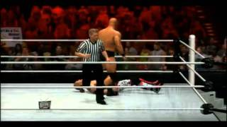 WWE 12 | Stone Cold Steve Austin Signature, Wake up taunt and Finisher
