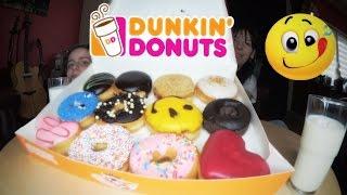 [MUKBANG] 🍩 Dunkin' Donuts : la dégustation !