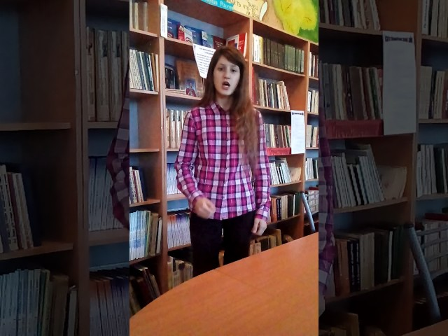 Изображение предпросмотра прочтения – ВикторияПаламар читает отрывок изпроизведения «Гроза» А.Н.Островского