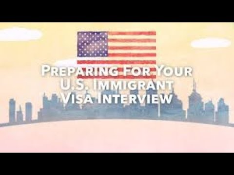 I-130 Spousal Visa Process- ( CR- 1) - Part 8 - NVC Embassy Interview Letter