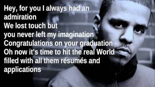 Like A Star By J. Cole With Lyrics On Screen