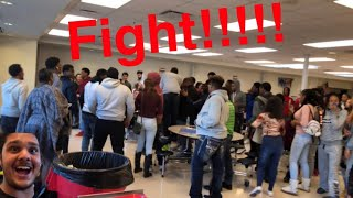 First day of school and a huge fight in my school!!!!