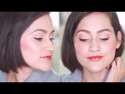 Fall Makeup Tutorial & SHORT HAIR! thumbnail