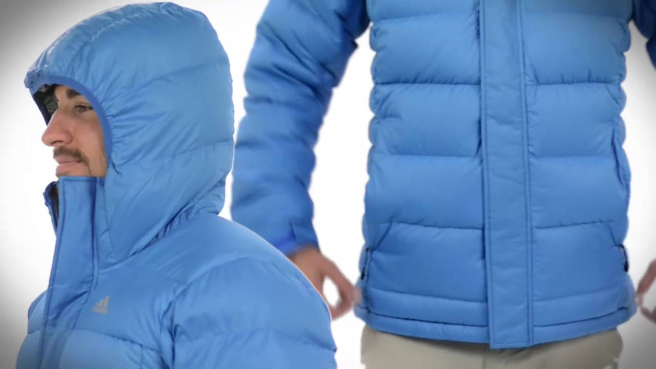d97240f8b47e adidas outdoor Frostheld ClimaHeat® Down Jacket - 700 Fill Power (For Men)  - YouTube