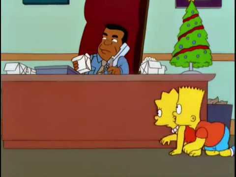 Gary Coleman Simpsons scene