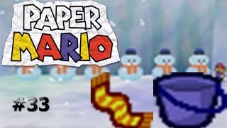 El muro de hielo/Paper Mario capítulo 33
