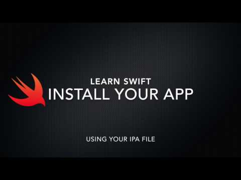 How export and install your IPA File iOS and Xcode 2017