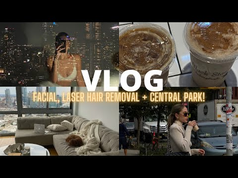 VLOG | Laser Hair Removal, Heyday Facial, Shopping On 5th Ave, Walking Around Central Park + More!