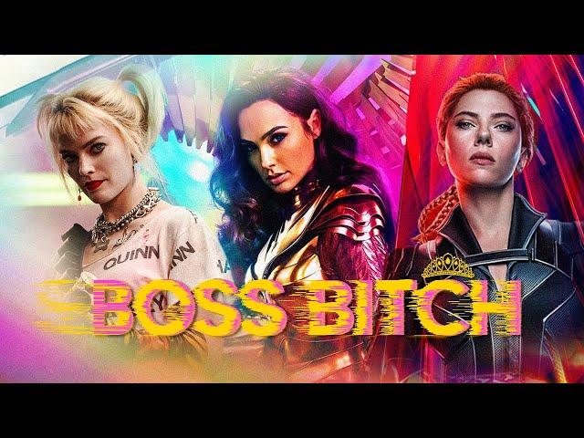 The Women of Marvel&DC    Boss Bitch