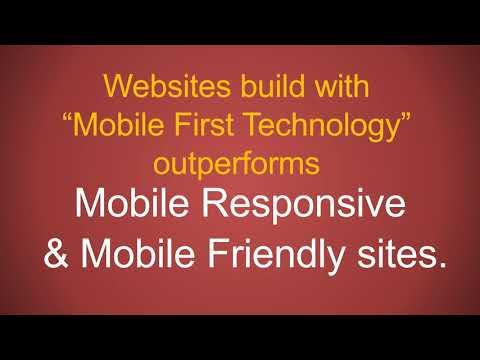 Mobile First Website Builder