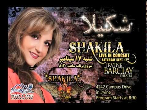 Shakila SEPT 17th Irvine Barclay Theatre