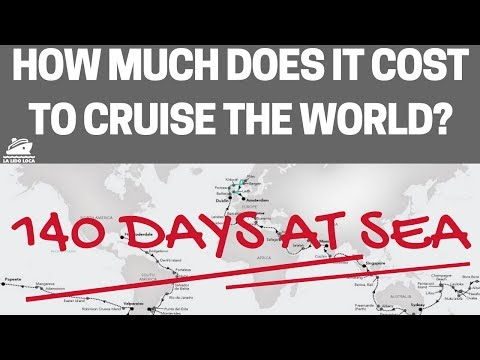 How Much Does it Cost to Cruise the World?