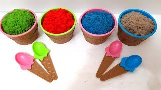 Toys for Kids Kinetic Sand Ice Cream Cups Mad Mattr How to Make for Kids Toys Review