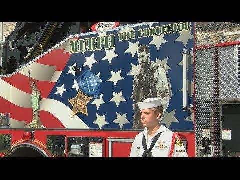New Firetruck Dedicated to Lt. Michael Murphy