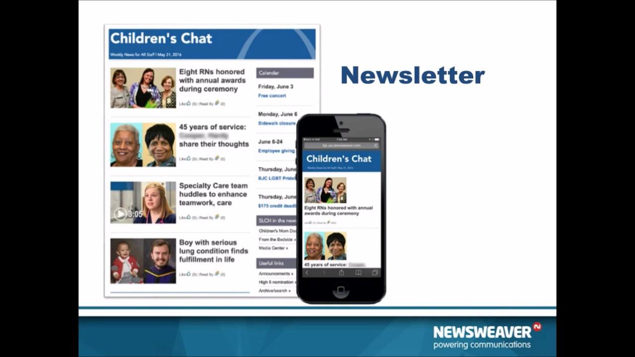 effective employee newsletter example youtube