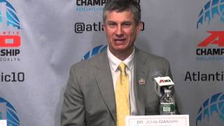 2015 #A10MBB Quarterfinals: La Salle Post Game Press Conference
