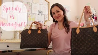Louis Vuitton Neverfull vs Speedy