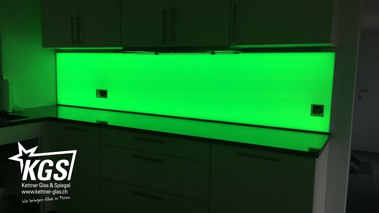 Plexiglas Rückwand Küche Befestigen  Küche Fliesenspiegel