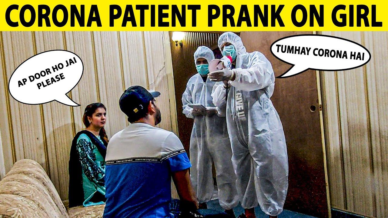 I Am Infected Prank on Girl - Lahori PrankStar