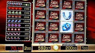 💥Mega Serie 💣1-2 Euro Cairo Casino dreht am Rad ☝️Moneymaker, Merkur Magie, Novoline, Merkur