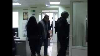 """Белгород, захват заложников в банке """"Западный"""" 21.04.2014"""