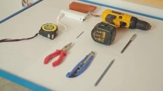 Vyměření a montáž látkové rolety plastové