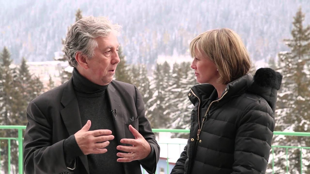 COUNTDOWN TO DAVOS:  Top 10 Hub Culture Interviews of the last Decade in Davos.  2015:  Robert Johnson of the Institute for New Economic Thinking