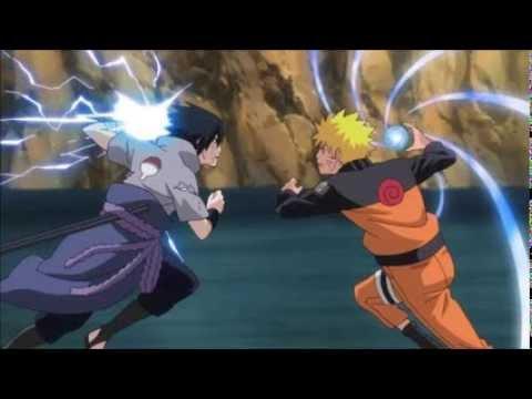 Naruto Rasengan Vs Sasuke Chidori