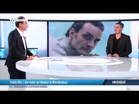 Musique: Ivan Ilic, en noir et blanc à Bordeaux...