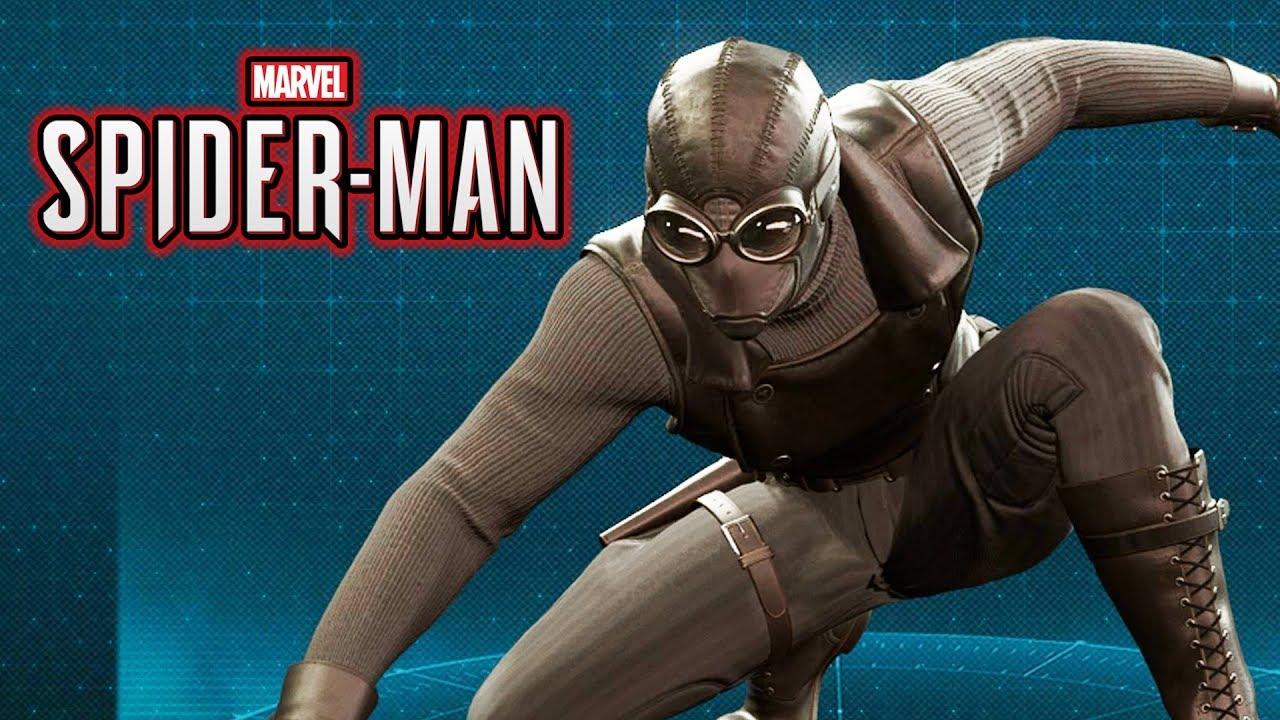 spider-man ps4 - noir spider-man suit gameplay showcase - youtube