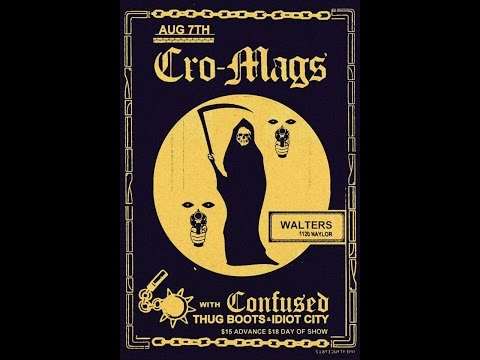 Cro-Mags Live @ Walters Downtown 8/7/2016