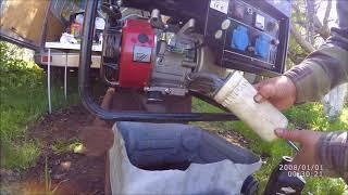 замена масла в бензогенераторе DDE