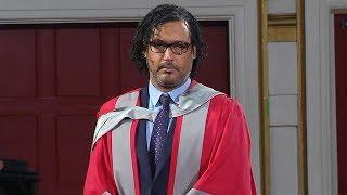 David Olusoga OBE - Honorary Degree - University of Leicester