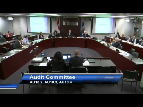 Audit Committee - October 27, 2017 - Part 1 of 2
