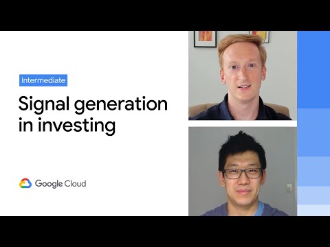 Signal generation in the investment management industry