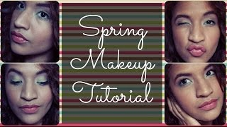Spring Makeup Tutorial Thumbnail