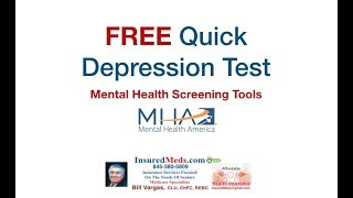 FREE Quick Depression & Mental Health Test