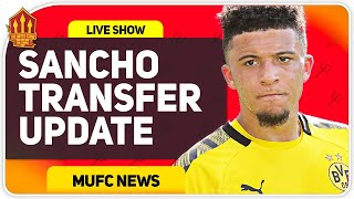 Sancho Transfer Update! Man Utd News Now