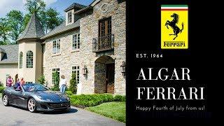 The New Ferrari Portofino @ Algar Ferrari